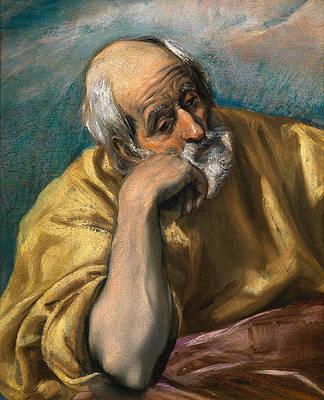 Saint Joseph Print by El Greco