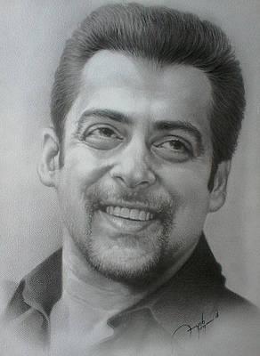 Bollywood Actor Drawings Fine Art America