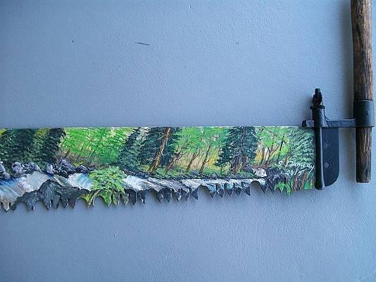 Saw Blade Paintings Fine Art America