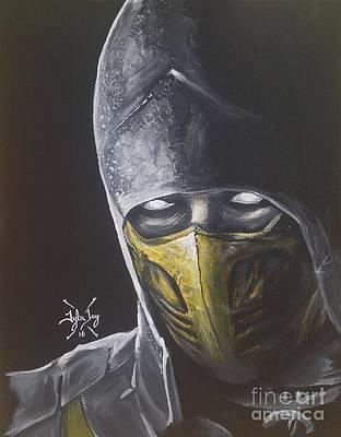 Mortal Kombat Paintings Fine Art America