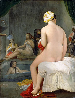 Small Bather 2 Print by Jean-Auguste-Dominique Ingres