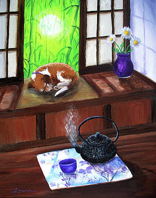 Japanese Tea Paintings | Fine Art America