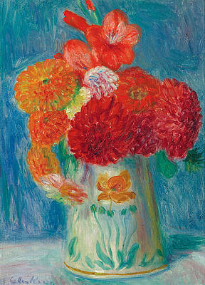 Still Life with Lilies Print by William Glackens