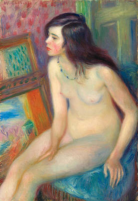 Temple Gold Medal Nude Print by William Glackens