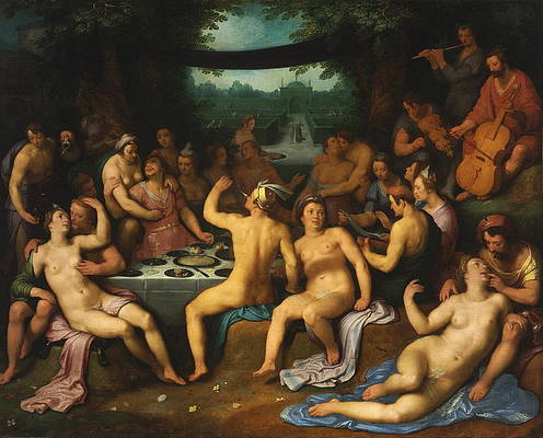 Group Sex Painting