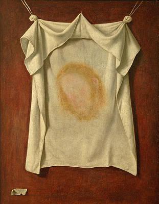 The Holy Face Print by Francisco de Zurbaran