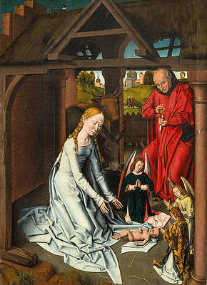 The Nativity Print by Workshop of Hans Memling
