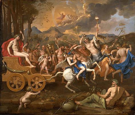 The Triumph of Bacchus Print by Nicolas Poussin