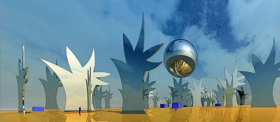 Tree Lot 2 Digital Art By Ron Bissett Christmas tree lot stock vector. pixels