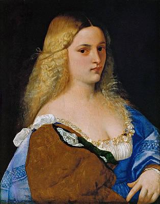Violante Print by Titian