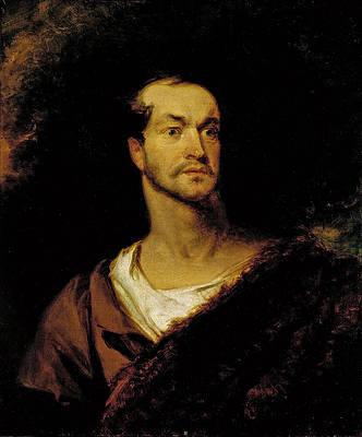 William Charles Macready as William Tell Print by Henry Inman