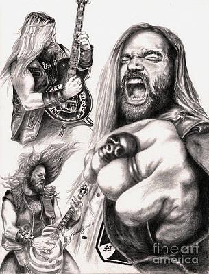 Heavy Metal Guitar Drawings Fine Art America