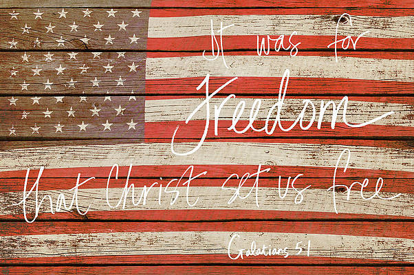Freedom Wall Art - Photograph - It Was For Freedom by Gail Peck