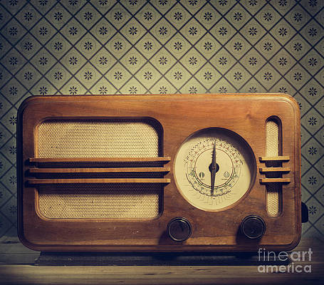 Antique Radio Art Fine Art America