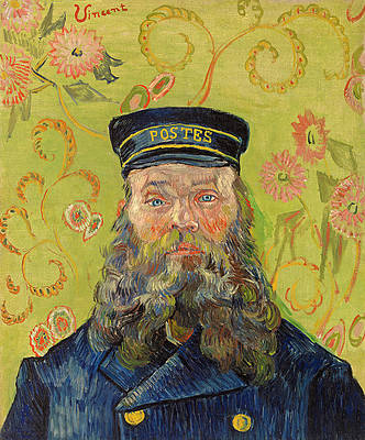 Portrait of Joseph Roulin Print by Vincent van Gogh