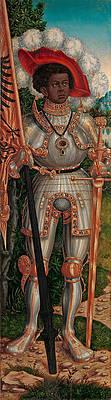 Saint Maurice Print by Lucas Cranach the Elder and Workshop