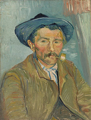The Smoker Print by Vincent van Gogh
