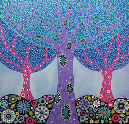 Wishing Tree Wall Decoration Poster Art Print Quality Gloss Wall Decoration