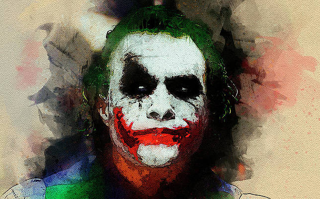 30 x 45 cm OIUYT P/óster de Joker Joaquin Phoenix Art Canvas Art Art Art Art Art Art Art Art Art Art Art Art Art Art Art Art Art P/óster P/óster de pared moderno de 12 x 18 pulgadas