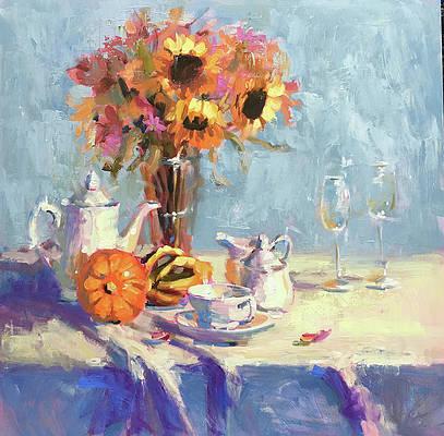 Tea Table Paintings Fine Art America