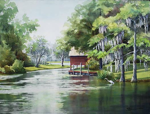Bayou Paintings Fine Art America
