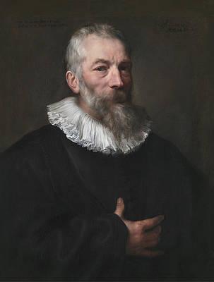 Marten Pepijn Print by Anthony van Dyck