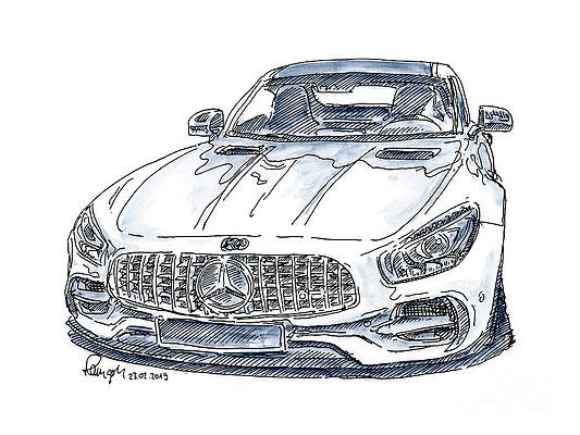 Sports Cars Drawings Fine Art America