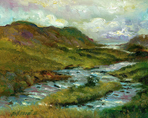 Irish Landscape Paintings Fine Art America