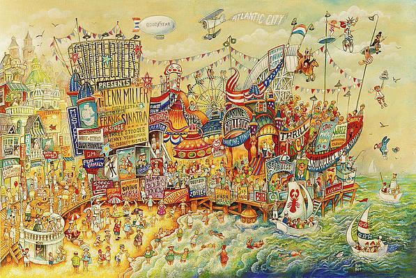 Atlantic city casino mural art candlebox showboat casino