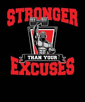 CANVAS Bodybuilding Fitness Stronger Hardest Motivational Qu Print Art POSTER