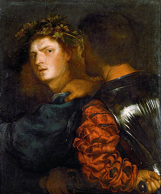 The Brave. Il Bravo Print by Titian