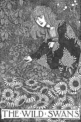 Wild Flower Drawing - The Wild Swans C1930 by Print Collector