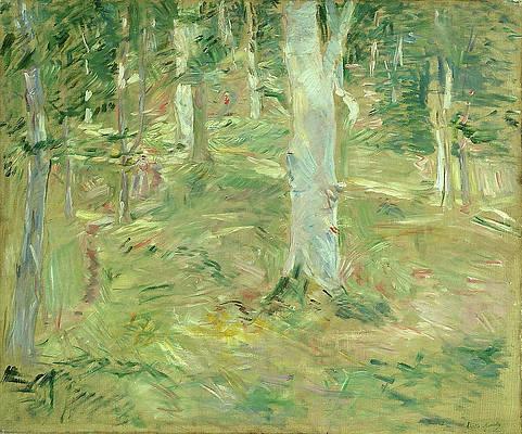 Foret de Compiegne Print by Berthe Morisot