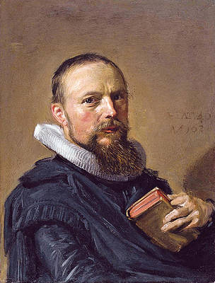 Samuel Ampzing Print by Frans Hals