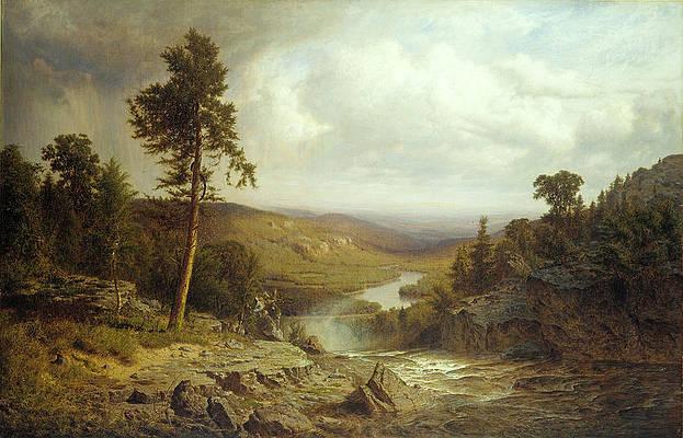 Tennessee Print by Alexander Helwig Wyant