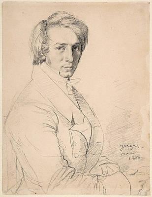Ursin-Jules Vatinelle Print by Jean-Auguste-Dominique Ingres