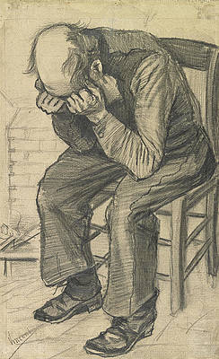 Worn Out Print by Vincent van Gogh