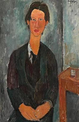 Chaim Soutine Print by Amedeo Modigliani