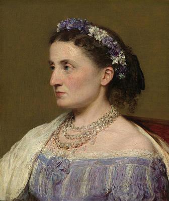 Duchess De Fitz-james Print by Henri Fantin-Latour