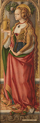Mary Magdalene Print by Carlo Crivelli