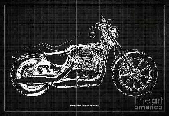 Vintage Harley Davidson Drawings Page 3 Of 3 Fine Art America,Design Your Own Cattle Brand