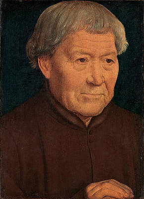 Portrait of an Old Man Print by Hans Memling