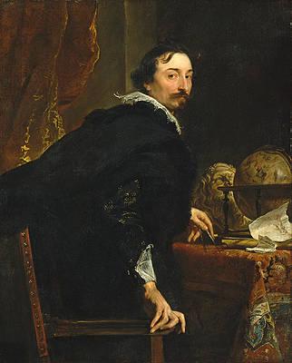 Lucas van Uffel Print by Anthony van Dyck