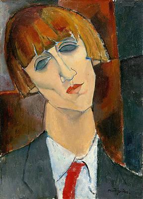 Madame Kisling Print by Amedeo Modigliani