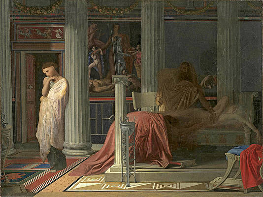 Antiochus and Stratonice 2 Print by Jean-Auguste-Dominique Ingres