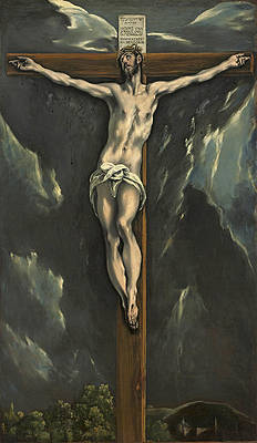 Christ on the Cross 2 Print by El Greco