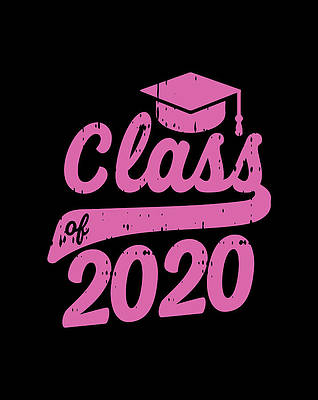 Graduation Cap Drawing - Class Of 2020 Graduation Cap Graduating Girls Boys Gift by Grace Hunter