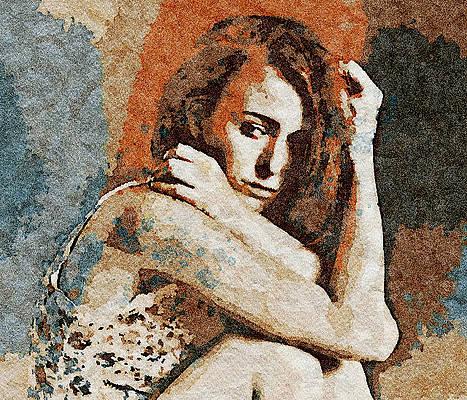 Wall Art - Digital Art - Domestic Violence by Femina Photo Art By Maggie