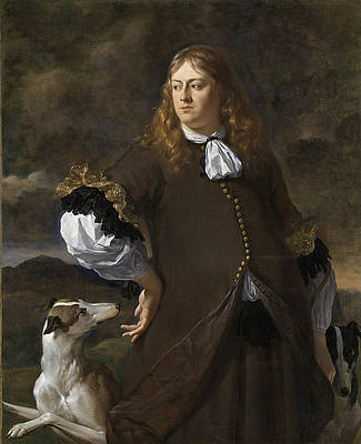 Joan Reynst, Lord of Drakestein and the Vuursche. Captain of the Amsterdam militia in 1672 Print by Karel Dujardin