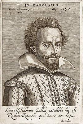 John Barclay Print by Claude Mellan